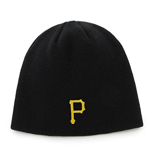 MLB Pittsburgh Pirates Men's Knit Hat, Black