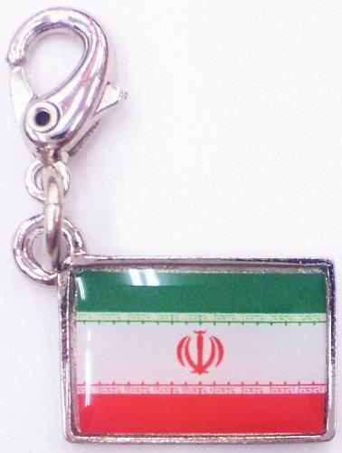 NATIONALFLAG 国旗柄ファスナーホルダー イラン・イスラム共和国 07161-1