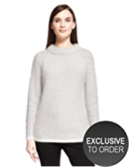 Autograph Textured Jumper with Angora