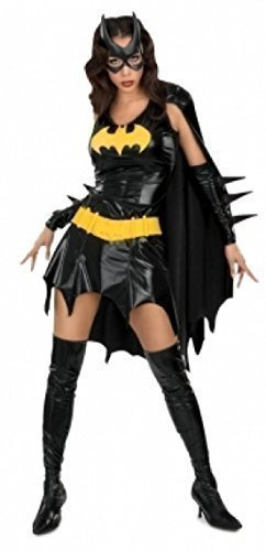 mesdames-5-piece-sexy-batwoman-costumes-robe-masque-thong-et-manchettes-taille-40