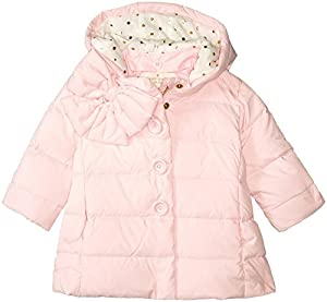 kate spade york Bow Neck Puffer Coat (Baby)