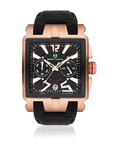 Sergio Tacchini Reloj de cuarzo Man Negro 50 mm