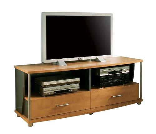 Cheap Honeydew/Charcoal Widescreen TV Stand (4257-662)
