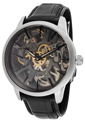 Maurice Lacroix Men's MP7138-SS001030 Masterpiece Squelette Skeleton Dial Watch