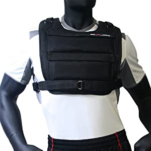 MIR® - F.A.I. (SHORT STYLE) WEIGHT VEST - HOLD UP TO 50LBS