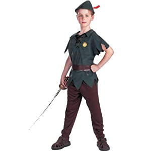 Toddler 3-4T - STANDARD Disneys Peter Pan Costume - (Sword not included)