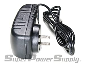 Super Power Supply® AC / DC Adapter Charger Cord Replacement for AD-A12150LW for use with Casio CTK-6000 CTK-7000 WK-6500 WK-7500 and CASIO DIGITAL PIANO PRIVIA PX 330 PX 130 PX330 PX130 KEYBOARD Wall Plug