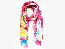 Phive Rivers Women's Scarf Red-PR992
