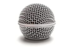 Replacement Microphone Mesh Head: Suits Shure SM58 and similar