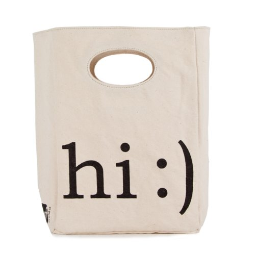 Fluf Hi Organic Lunch Bag
