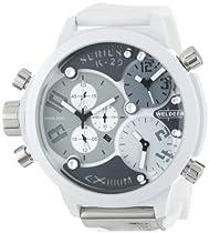 Welder Unisex 8007 K29 Oversize Three Time Zone Chronograph Watch