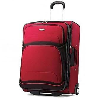 Samsonite 250 Series 25 Expandable Upright Red/Black