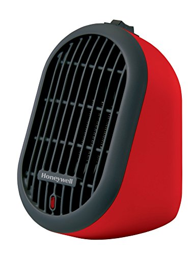 Honeywell HCE100R Fever Bud Ceramic Heater, Red
