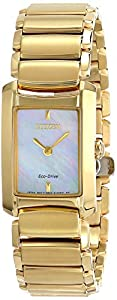 Citizen Women's EG2972-58D Euphoria Analog Display Japanese Quartz Gold Watch