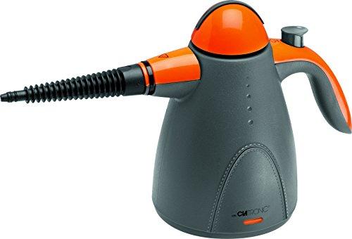 clatronic-dr-3535-limpiador-al-vapor-de-mano-9-accesorios-1000-w-color-gris-y-naranja