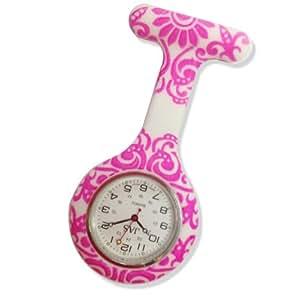 Amazon.com: JAS Unisex Nurses Lapel Watch Silicone (Infection Control