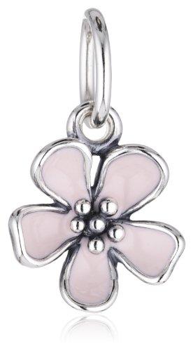 Pandora Damen-Anhänger 925 Sterling Silber Emaille rosa 390347EN40
