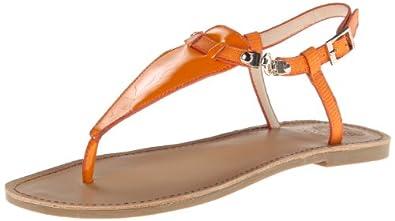 Vince Camuto Women's Itelli Gladiator Sandal,Tangerine Tang,6 M US