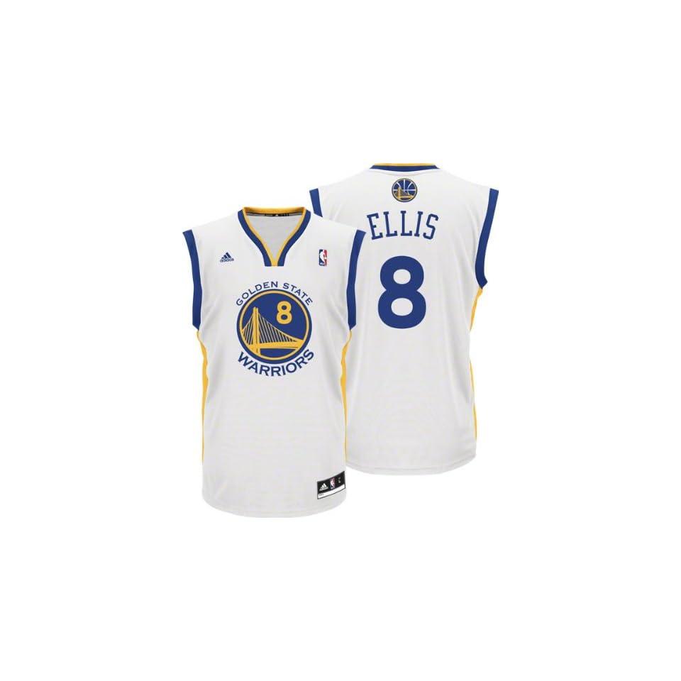 5a04d814544 Adidas Golden State Warriors Monta Ellis New Revolution 30 Replica Home  Jersey