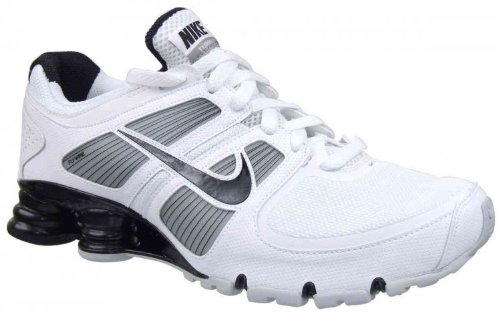 recognized brands outlet store best authentic Cheap Sale Mens Nike Shox Turbo+ 11 Running Shoes White ...