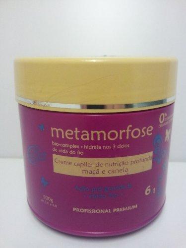 Metamorfose Apple & Cinnamon Salt-Free Straightening & Deep Nutrition Hair Cream by Metamorfose