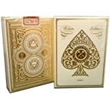 Carte da gioco bianco artigianale dalla teoria 11 | White Artisan Playing Cards by Theory 11