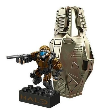 Mega Bloks Halo Metallic Copper ODST - 1