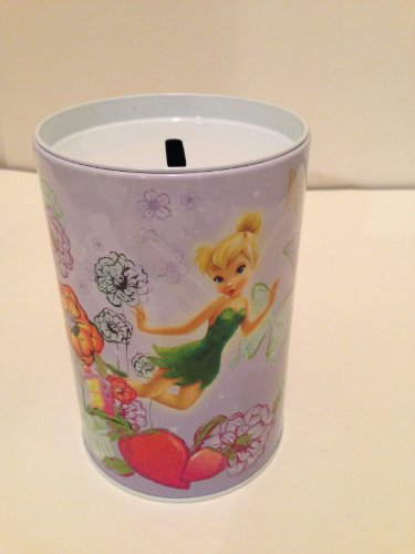 Tinker Bell with Flowers and Fruits Money (Coin) Bank