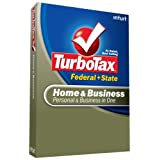 TurboTax Home & Business Federal + State + eFile 2008 [OLD VERSION] ~ Intuit, Inc.