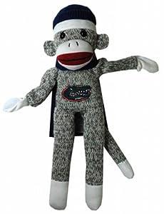 NCAA Florida Gators Plush Sock Monkey Flying at 'Sock Monkeys'