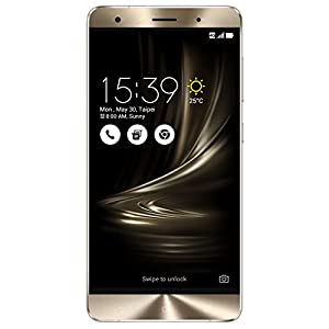 ASUS ZenFone 3 Deluxe 5.7-inch 6GB RAM 64GB storage Unlocked Dual SIM Cell Phone, US Warranty (ZS570KL-Glacier Silver)
