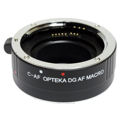 Auto Focus Micro Extension Tube Ring Red for Canon EOS EF EF-S 60D 7D 5D ED