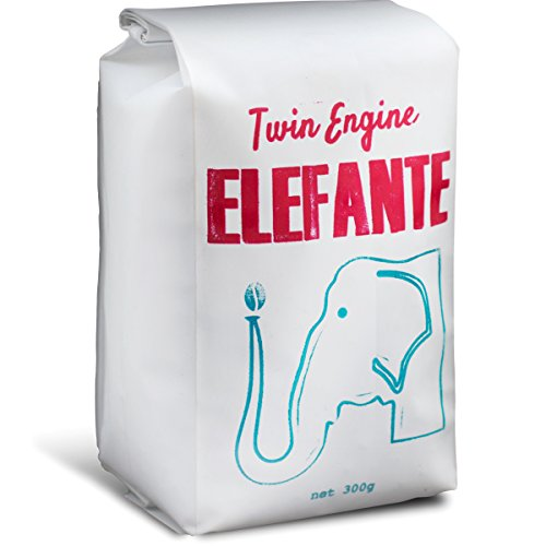Twin Engine Coffee RESERVE ELEFANTE - Reserve Roast, Whole Bean, Nicaragua's Coffee, 300g 10.6oz | Rich Specialty Grade Coffee packaged at the source (Coffee Engine compare prices)