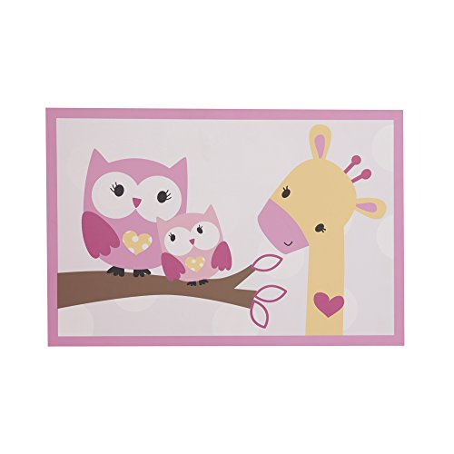Bedtime Originals Bubblegum Jungle Wall Decor - 1