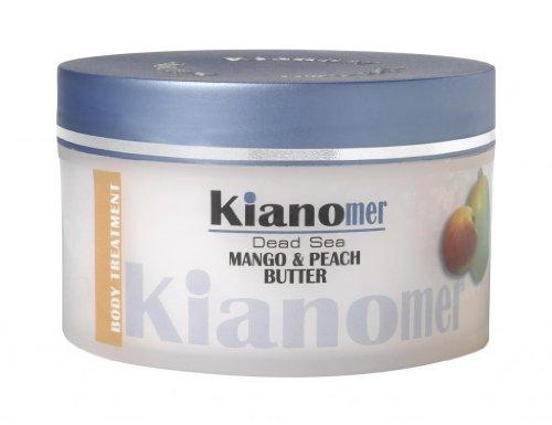 Mango & Peach Butter Dead Sea Minerals Body Treatment Cream Moisturizer 7.04 Fl Oz