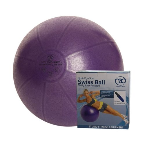 Studio Pro Swiss Ball 55cm - Load Rating 500kg