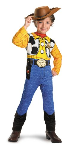 Toy Story Woody Kids Costume, 3T4T front-999001
