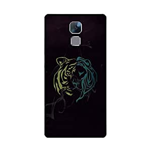 Skintice Designer Back Cover with direct 3D sublimation printing for Huawei Honor 7