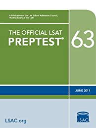 The Official LSAT PrepTest 63--June 2011 LSAT