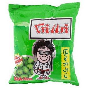 Koh Kae Nori Wasabi Flavour Peanuts 95 Grams Thailand Product from Thailand