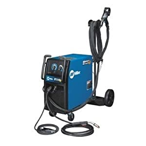MIG Welder, Wheeled, 208/230VAC from Miller Electric