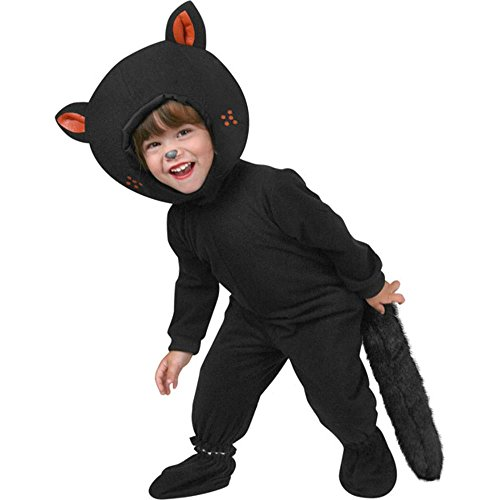 Toddler Classic Black Cat Costume (Size: 2T)