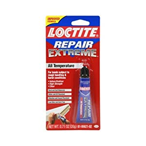 Loctite All-Temperature Repair Extreme Adhesive, 0.71-Ounce