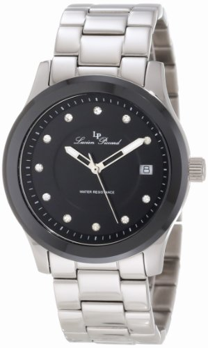Lucien Piccard Men's 10226-11-BCB Cima Black Dial Watch