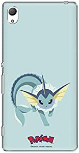 The Racoon Lean printed designer hard back mobile phone case cover for Sony Xperia Z3 Compact. (vaporeon)