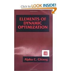 Elements of Dynamic Optimization (9781577660965)