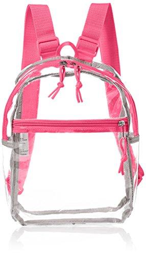eastsport-mini-backpack-clear-pink
