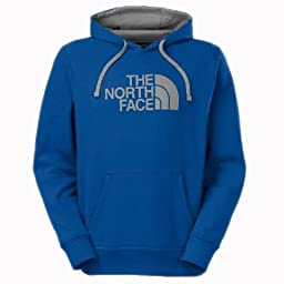 The North Face Men\'s Half Dome Hoodie (Large, MONSTER BLUE / MONUMENT GREY)