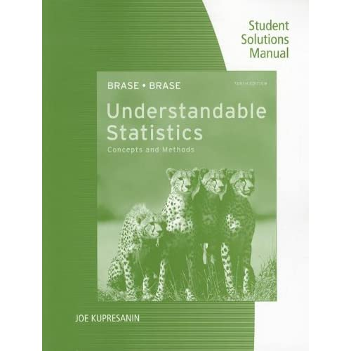 Brase - Understandable Statistics: Concepts + Methods 10th c2012