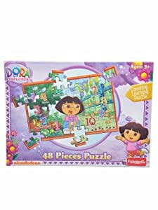 Funskool Dora 48 Piece Counting Learning Puzzle